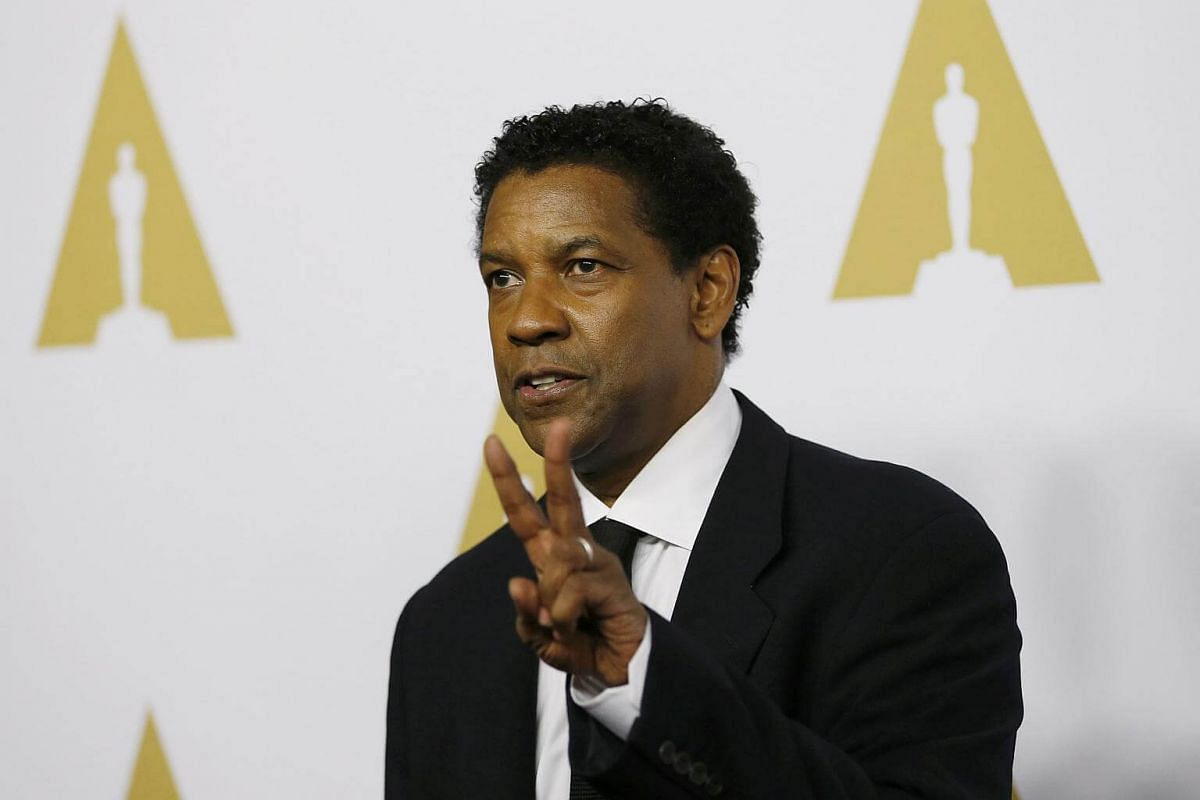Actor Denzel Washington arriving at the 89th Oscars Nominee Luncheon in Beverly Hills, California, US, on Feb 6, 2017.