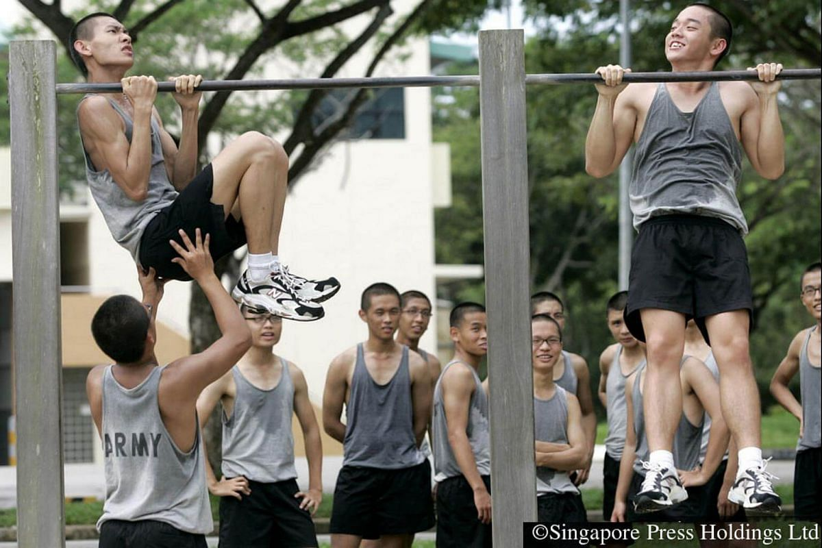 2007: More rigorous physical exercises to get the recruits in fighting-fit shape. Lessons of discipline and resilience, among other things, are also learnt during the hard and tough training.