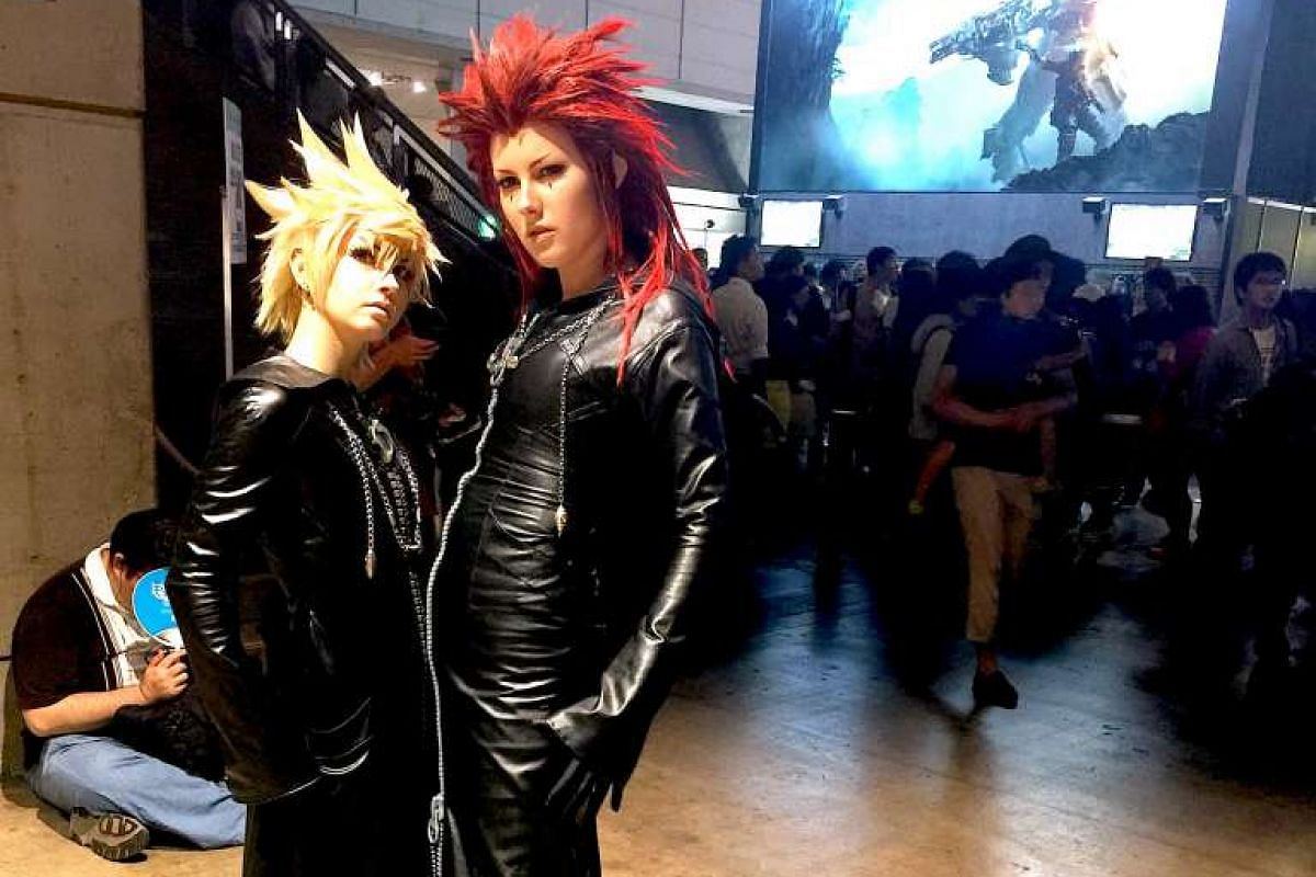 """Cosplayers at last year's Tokyo Game Show, an annual event where gaming companies often showcase their newest products. The ACG industry has the backing of a multibilliondollar """"Cool Japan"""" fund as part of a strategic push, both at home and abr"""