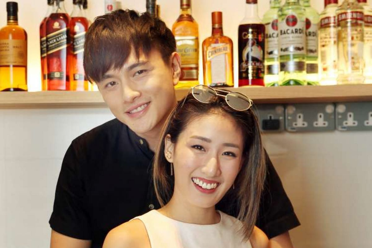 While actress Jesseca Liu and comedian Jeremy Chan are tight-lipped about their relationship, actor Shane Pow and radio DJ Kimberly Wang (both above) have no qualms sharing blissful wefies on social media.