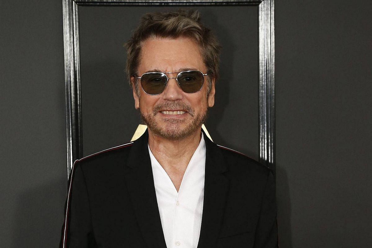 Jean-Michel Jarre arriving at the 59th Annual Grammy Awards in Los Angeles, California, US, on Feb 12, 2017.