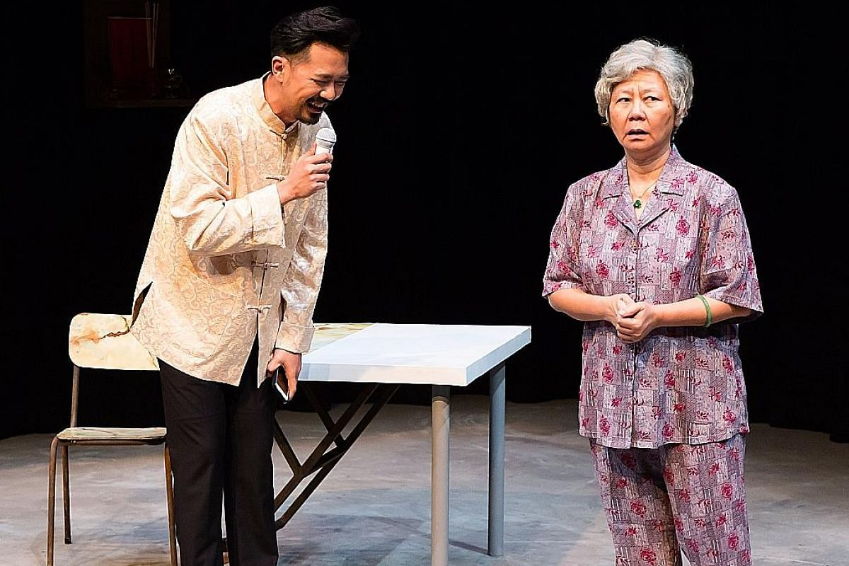 Grandmother Tongue, which featured Rei Poh and Jalyn Han (both above), is also up for Production Of The Year.