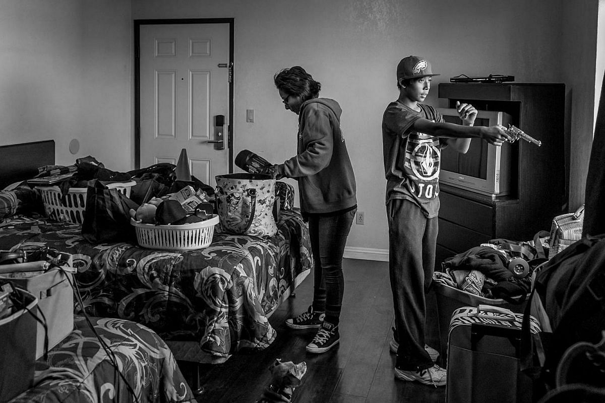 Melissa A. Ramon moves with her 13-year-old son Sam into a motel she calls 'The Jungle'. Melissa spent nine years in the Air Force, and suffers from MST and PTSD after sexual abuse from her training instructor and fellow airmen. Since her dischar