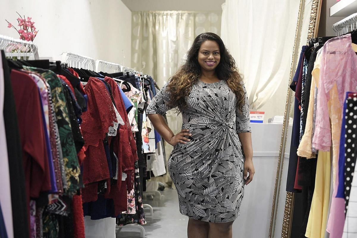 Ms Rani Dhaschainey opened plus-size boutique The Curve Cult in Far East Plaza in 2015. Mrs Kayde Ling opened her plus-size boutique Kaylene in Seah Street in 2015. It sells eveningwear and casual outfits.