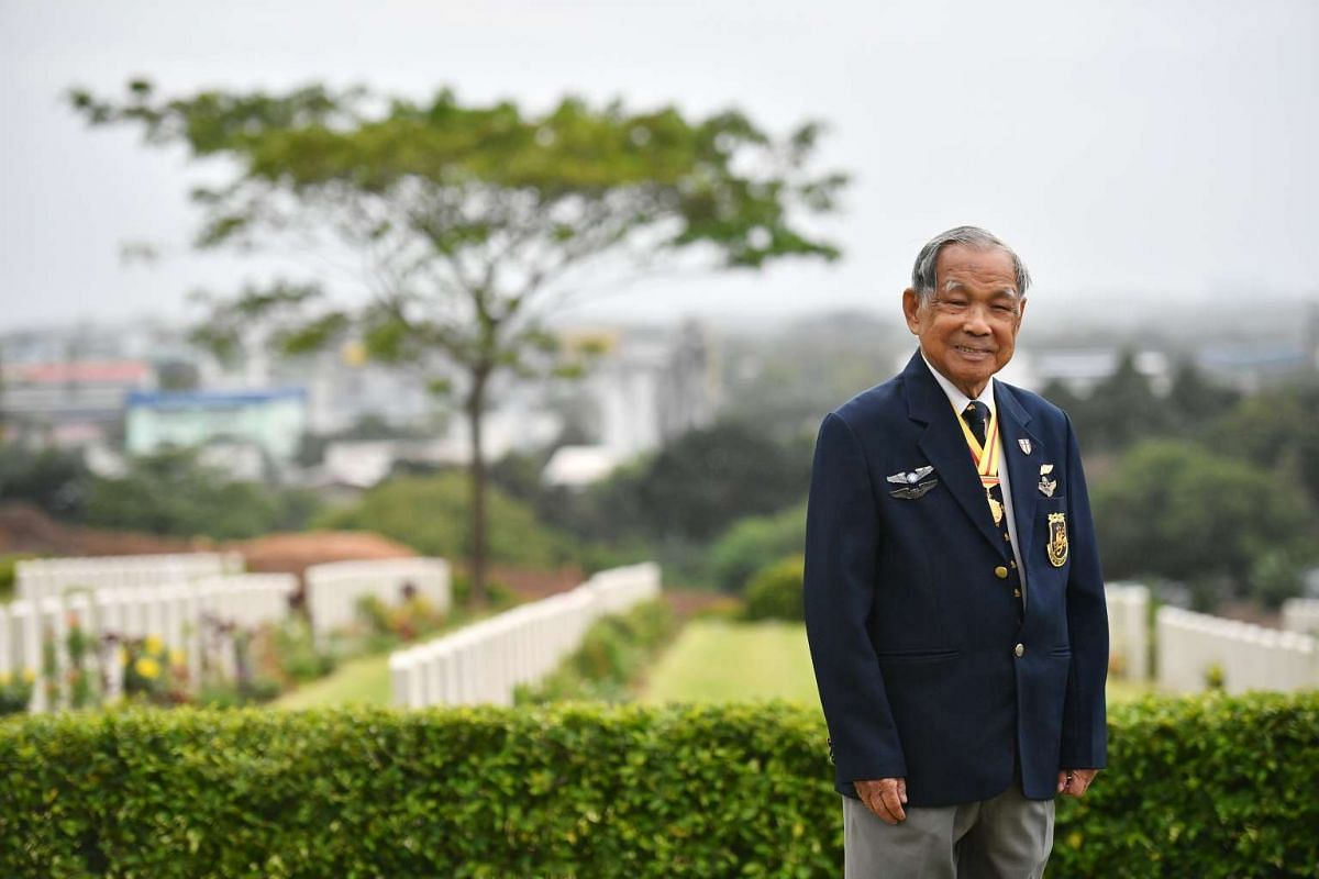 Captain Ho Weng Toh, a WWII Veteran Pilot, who flew 18 bombing missions over Japan-occupied China.