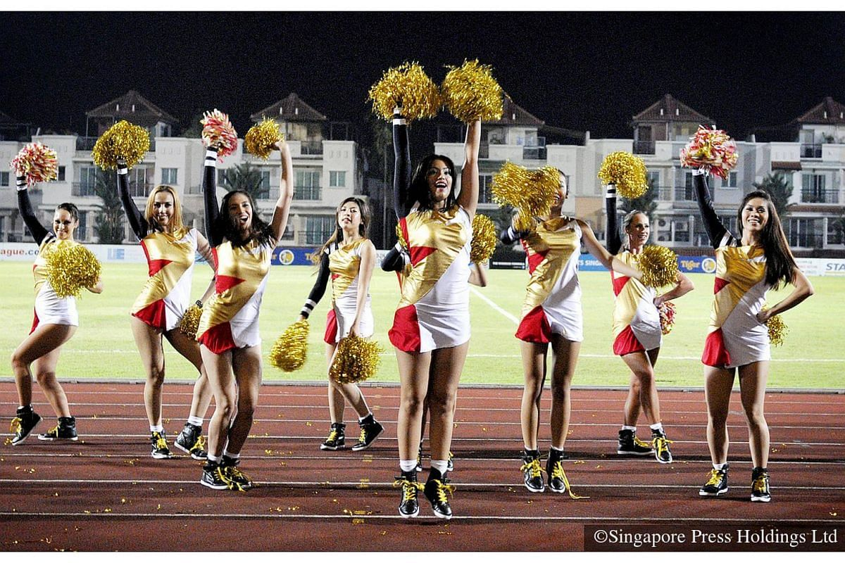 2012: The S-League SuperGals, comprising semi-professional cheerleaders from Singapore, Australia, Indonesia and Argentina, bring an extra spark to football. They provide lively entertainment at pre-match or half-time. Past performances by Home Unite