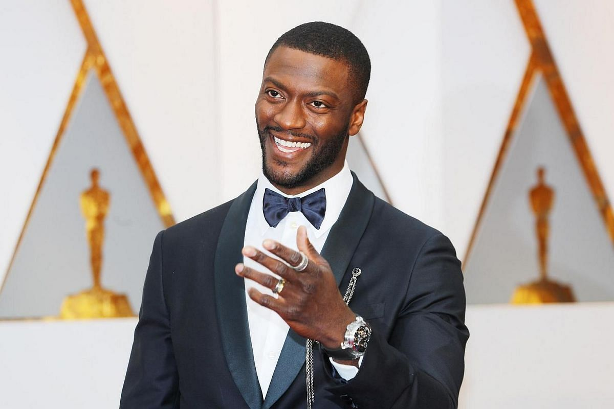 Aldis Hodge arriving on the red carpet during the 89th Academy Awards in Hollywood, California, on Feb 26, 2017.
