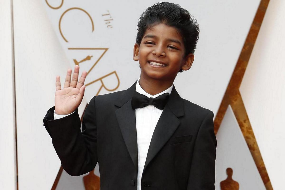Sunny Pawar arrives for the 89th annual Academy Awards ceremony at the Dolby Theatre in Hollywood, California, US, on Feb 26,2017.