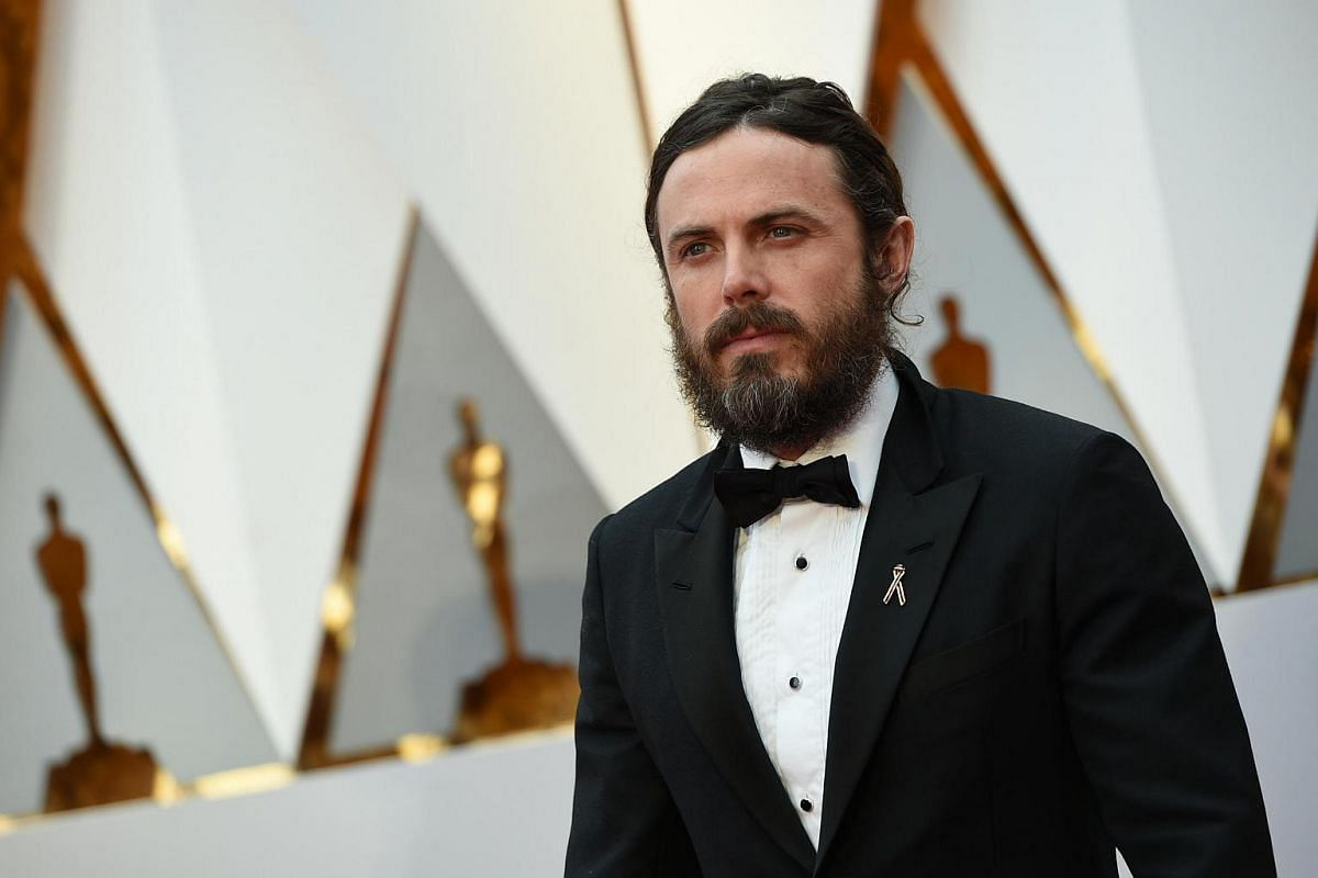 Nominee for Best Actor Manchester By The Sea Casey Affleck arriving on the red carpet.