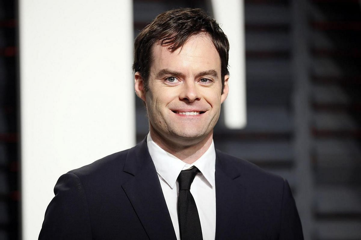 Bill Hader arriving on the red carpet for the 89th Oscars, on Feb 26, 2017.