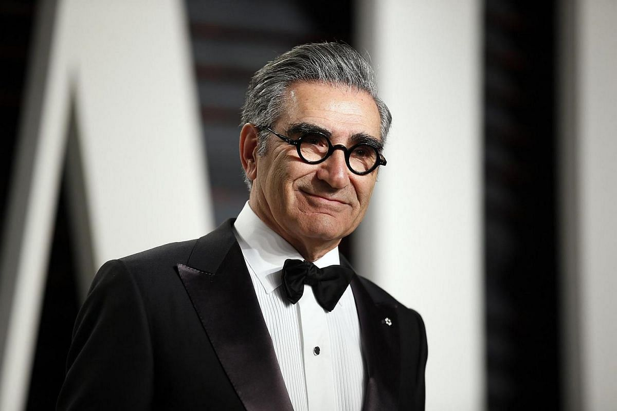 Eugene Levy arriving on the red carpet for the 89th Oscars on Feb 26, 2017.