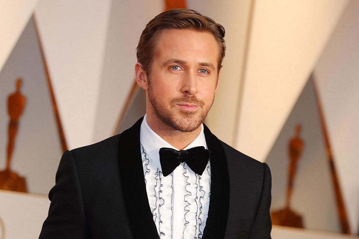 Ryan Gosling arriving on the red carpet for the 89th Oscars, on Feb 26, 2017.