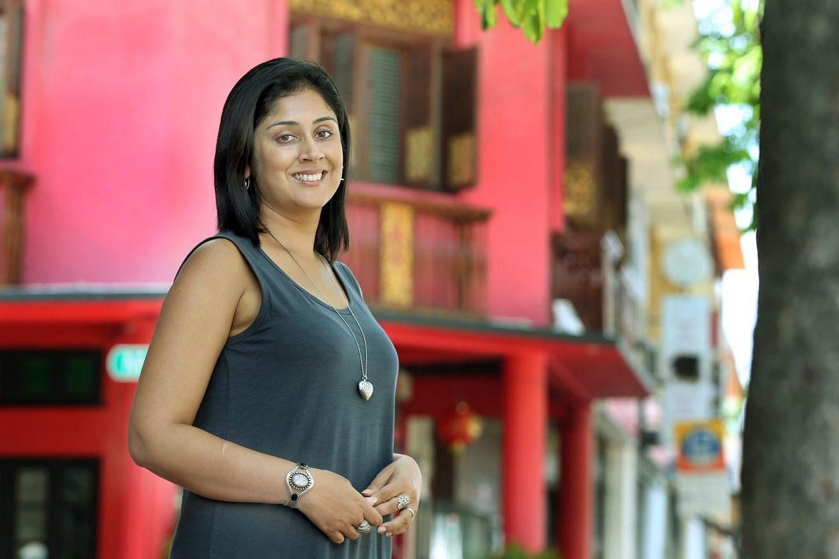 Balli Kaur Jaswal (above) gave up a job in Istanbul to return to Singapore to write full-time.
