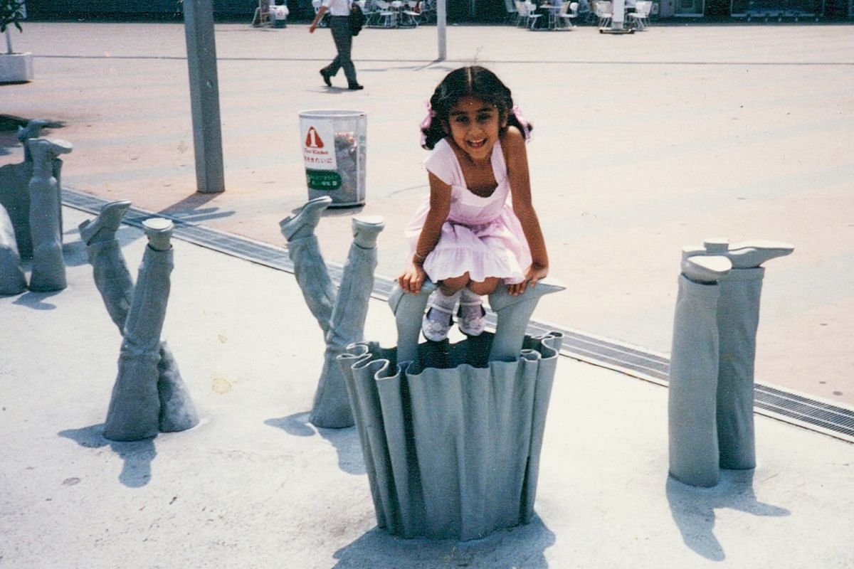 My Life So Far: Author Balli Kaur Jaswal, at age six or seven, in Tokyo.