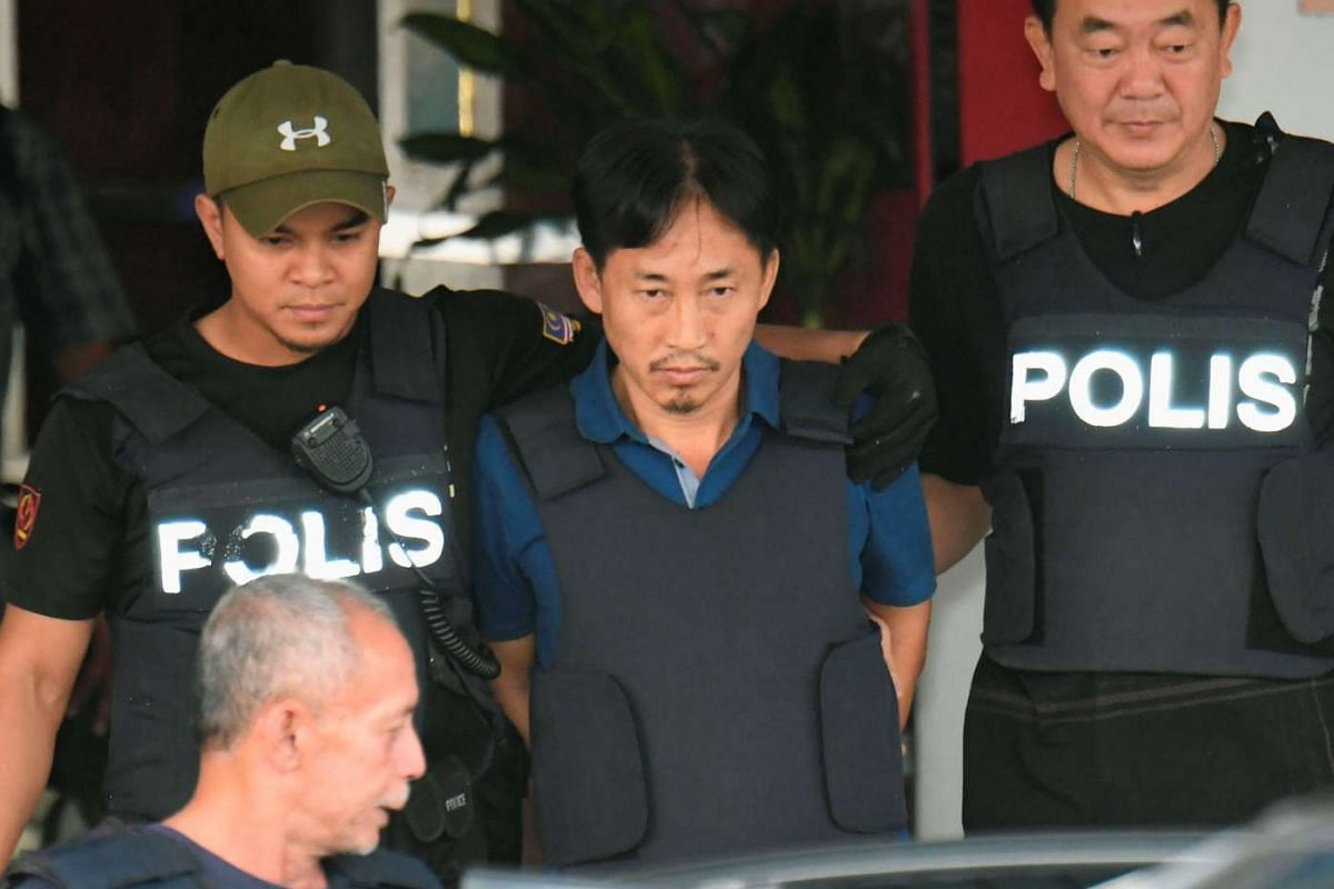 North Korean suspect in Kim Jong Nam murder, Ri Jong Chol, leaves a Sepang police station to be deported, in Malaysia March 3, 2017