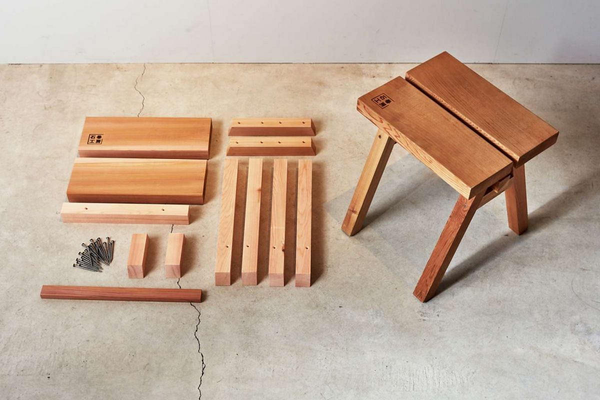 The Ishinomaki Stool by Ishinomaki Laboratory, which will have a booth at the Design, Make & Craft Fair.