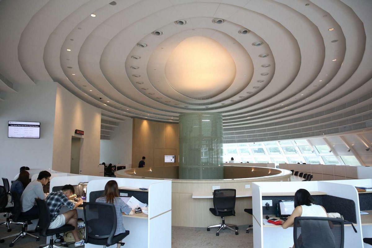 The Kwa Geok Choo Law Library.