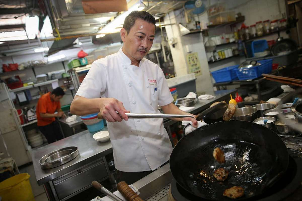 Hong Kong-born chef Tonny Chan started as an apprentice at age 17 and worked his way up to opening his own restaurant. PHOTO: ONG WEE JIN