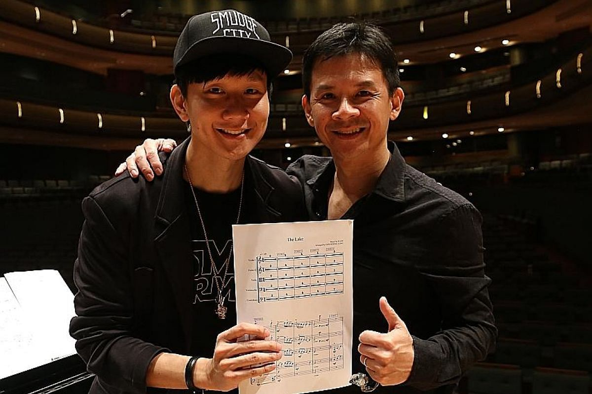 My life so far: Other singers Goh has worked with include Taiwanese pop star A-mei and Singapore singer JJ Lin (above).