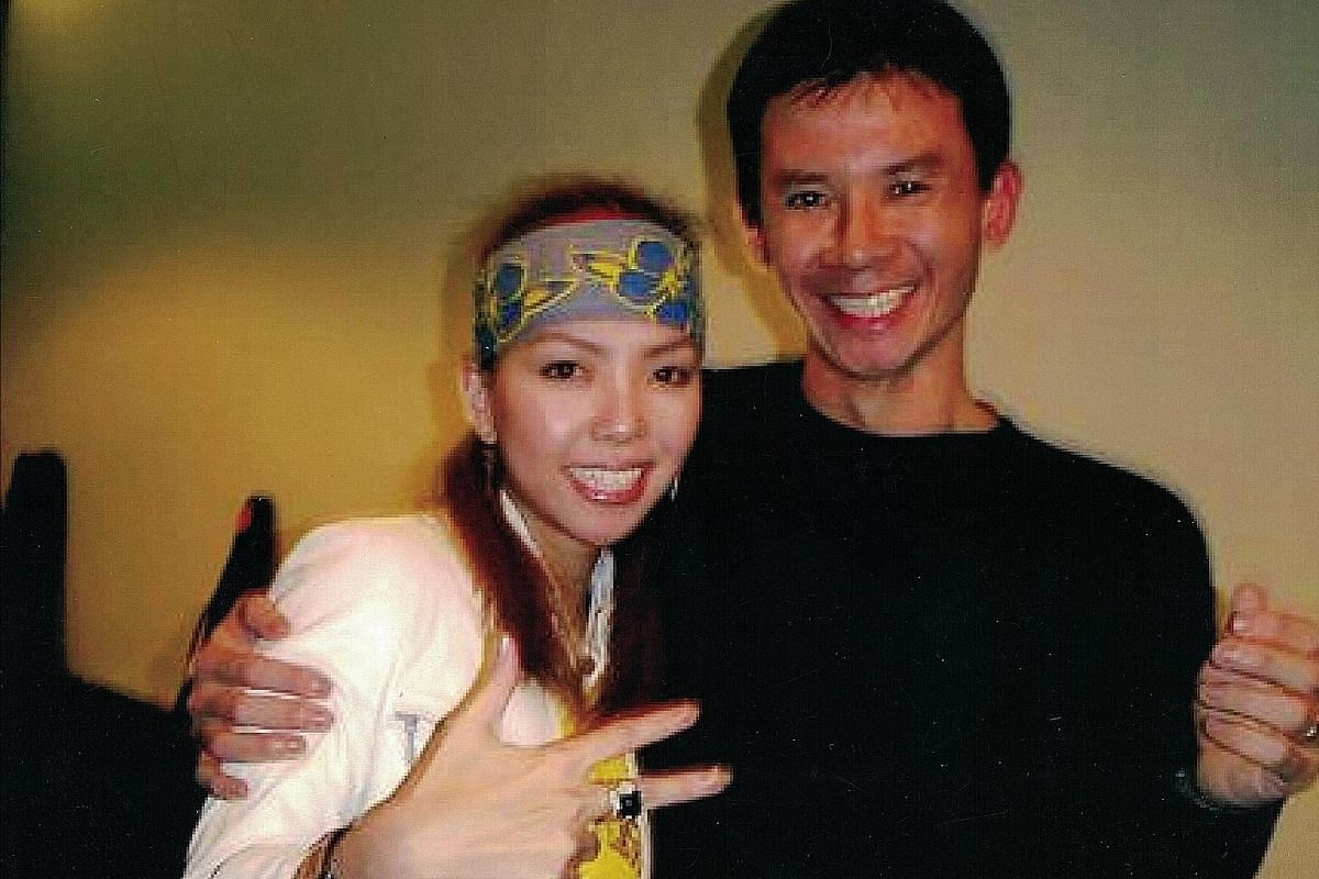 My life so far: Other singers Goh has worked with include Taiwanese pop star A-mei (above) and Singapore singer JJ Lin.