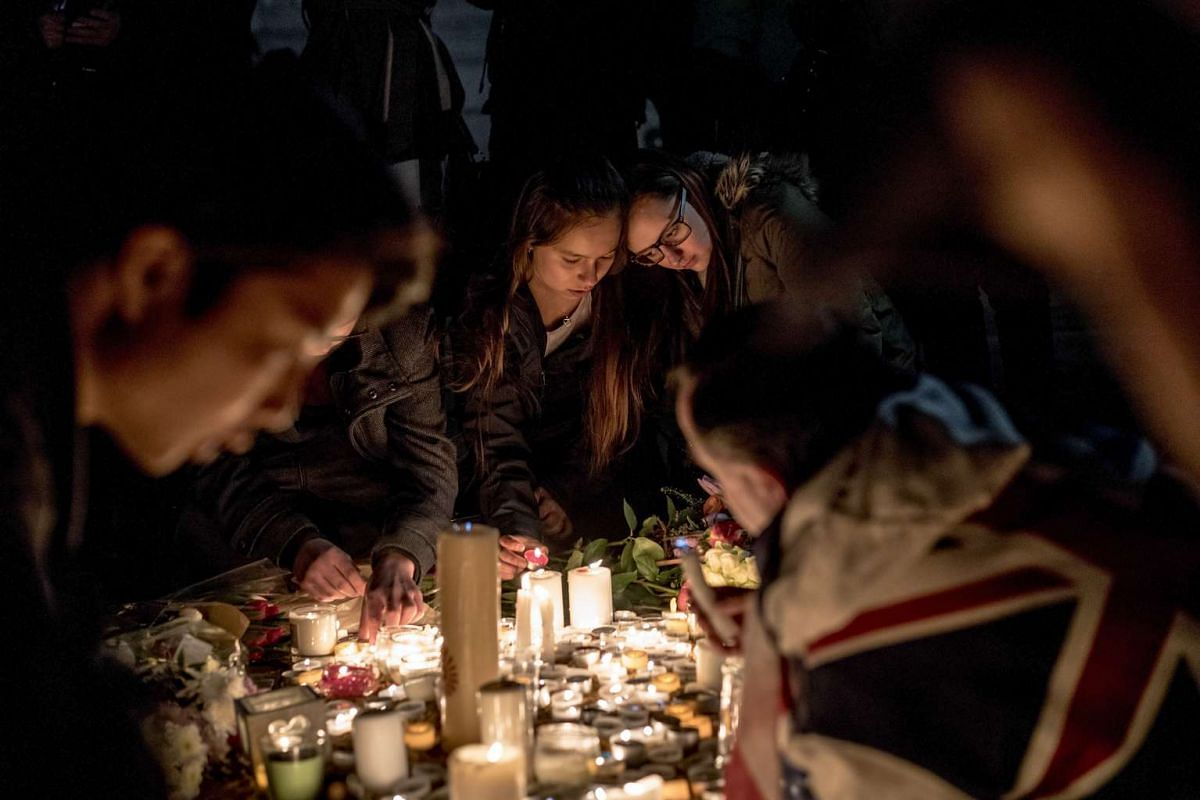 A vigil in Trafalgar Square for those killed in Wednesday's attack outside the houses of Parliament in London, on March 23, 2017.