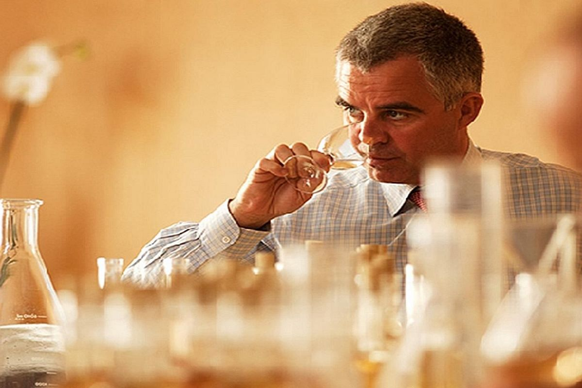 Mr Olivier Krug, director of the House of Krug, has an Instagram account with more than 11,000 followers.