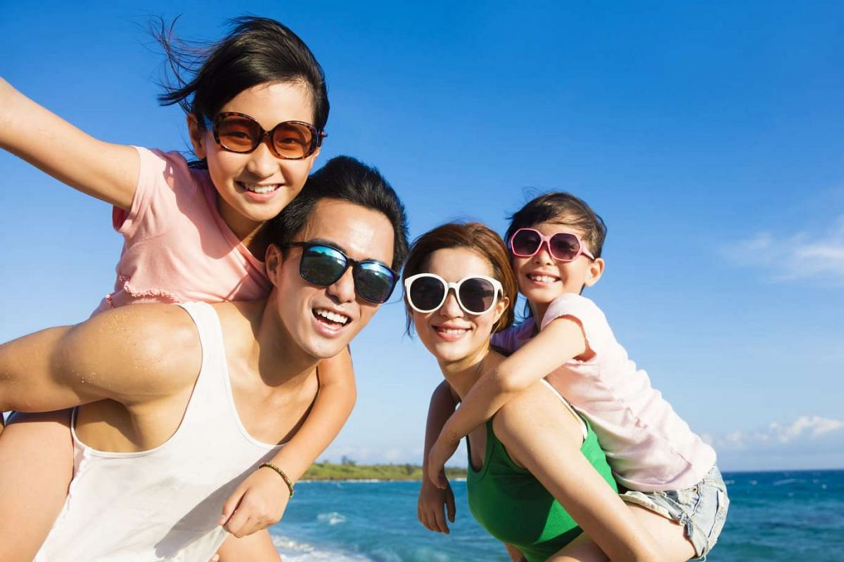 The journey to and from a destination is a good time for family bonding.