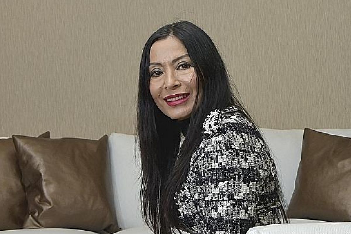 La Source Spa (top) has a 30-minute facial that is popular with working professionals who go at lunch time, says its manager Yumi Van Thorale (above).