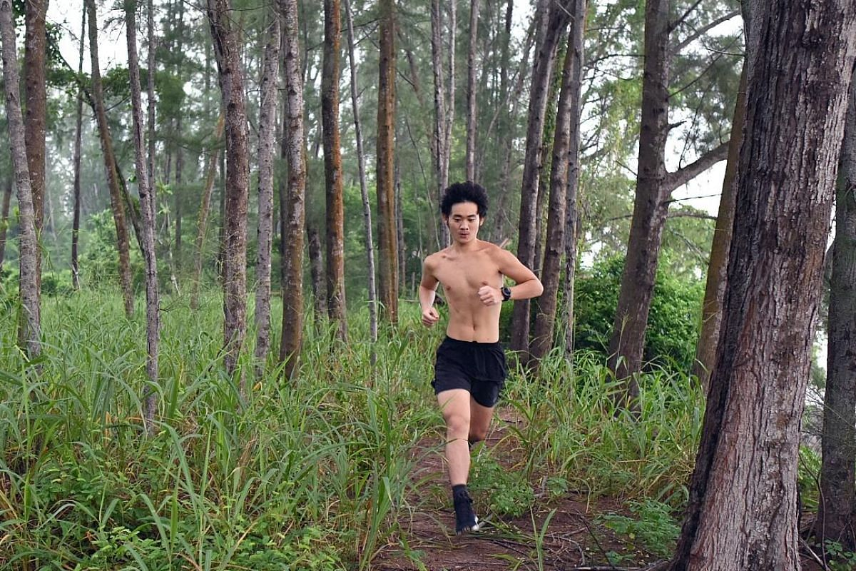 (Above) Singaporean Kyle Lek Kai Ming has pledged to run 10km every day for a year and donates a dollar to World Wide Fund For Nature Singapore for every kilometre clocked. (Left) New Zealander Glenn Elvy takes photos for free for Causes For Animals