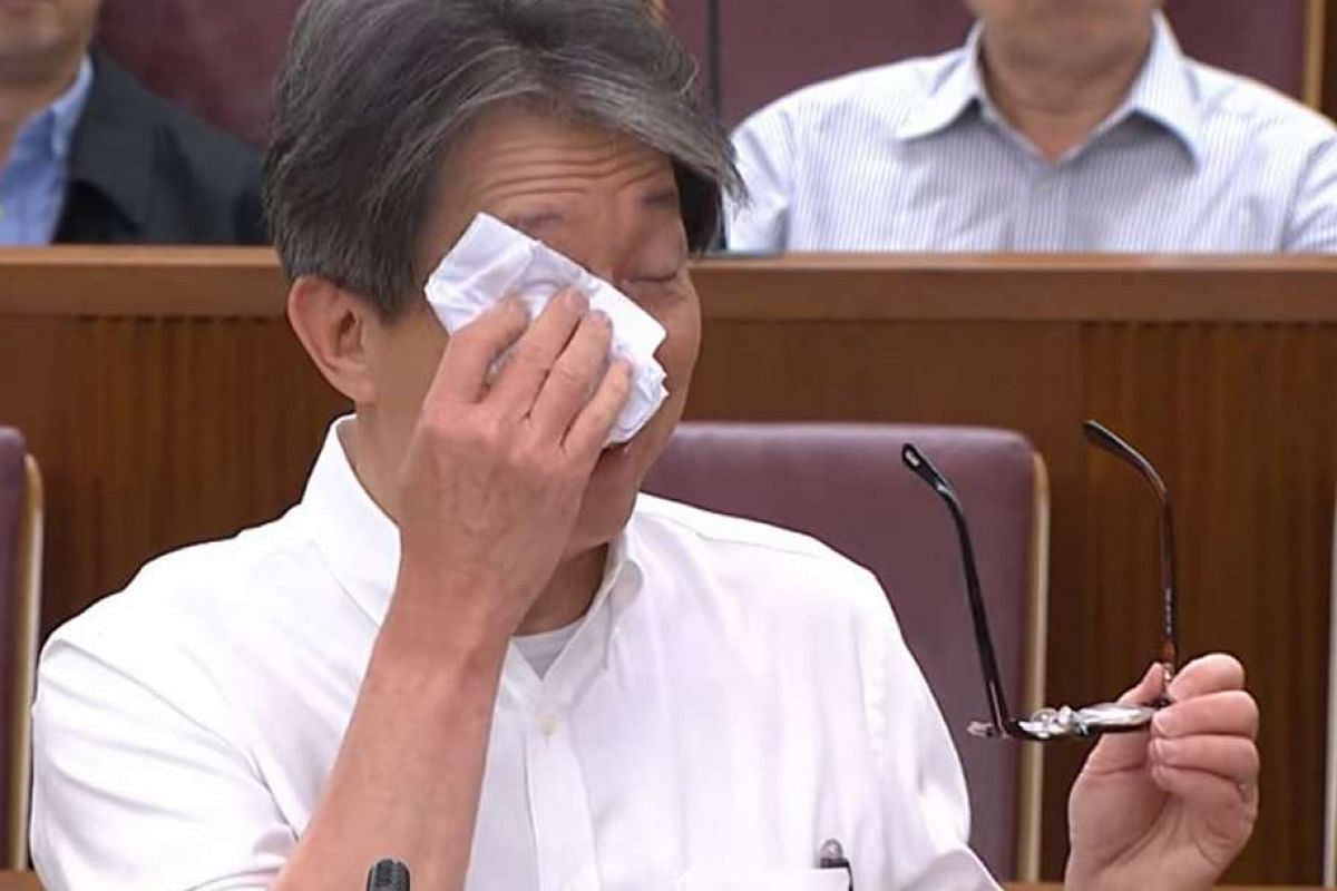 Manpower Minister Lim Swee Say in Parliament last month.
