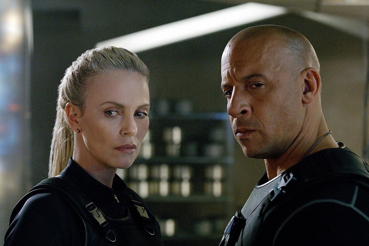 Vin Diesel reprises his role as Dominic Toretto and Charlize Theron plays Cipher, the franchise's first female villain.