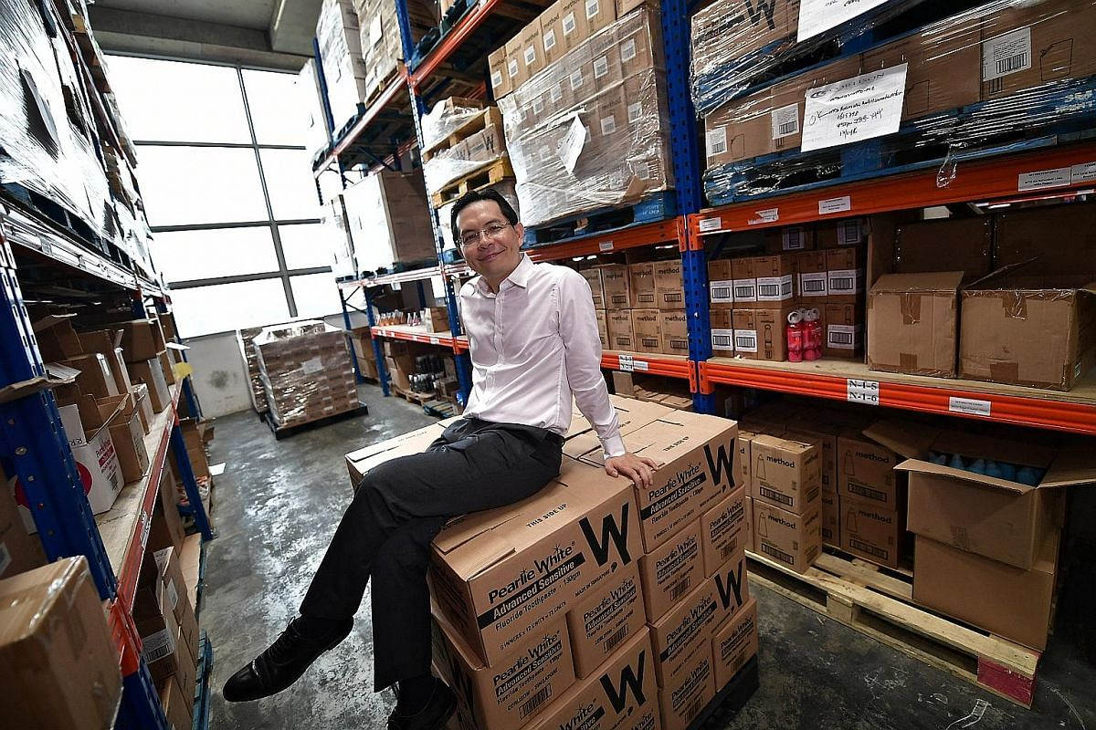 Mr Andy Ong, managing director of Corlison, wanted the company to make its own products after it lost the distribution rights to its biggest brand and struggled to stay afloat.