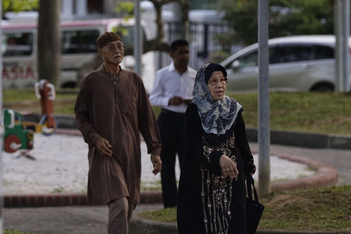 Mr Adanan Bakron, and his wife Madam Norsiah Suja'i, both in their 70s, were Mr Othman Wok's neighbours.