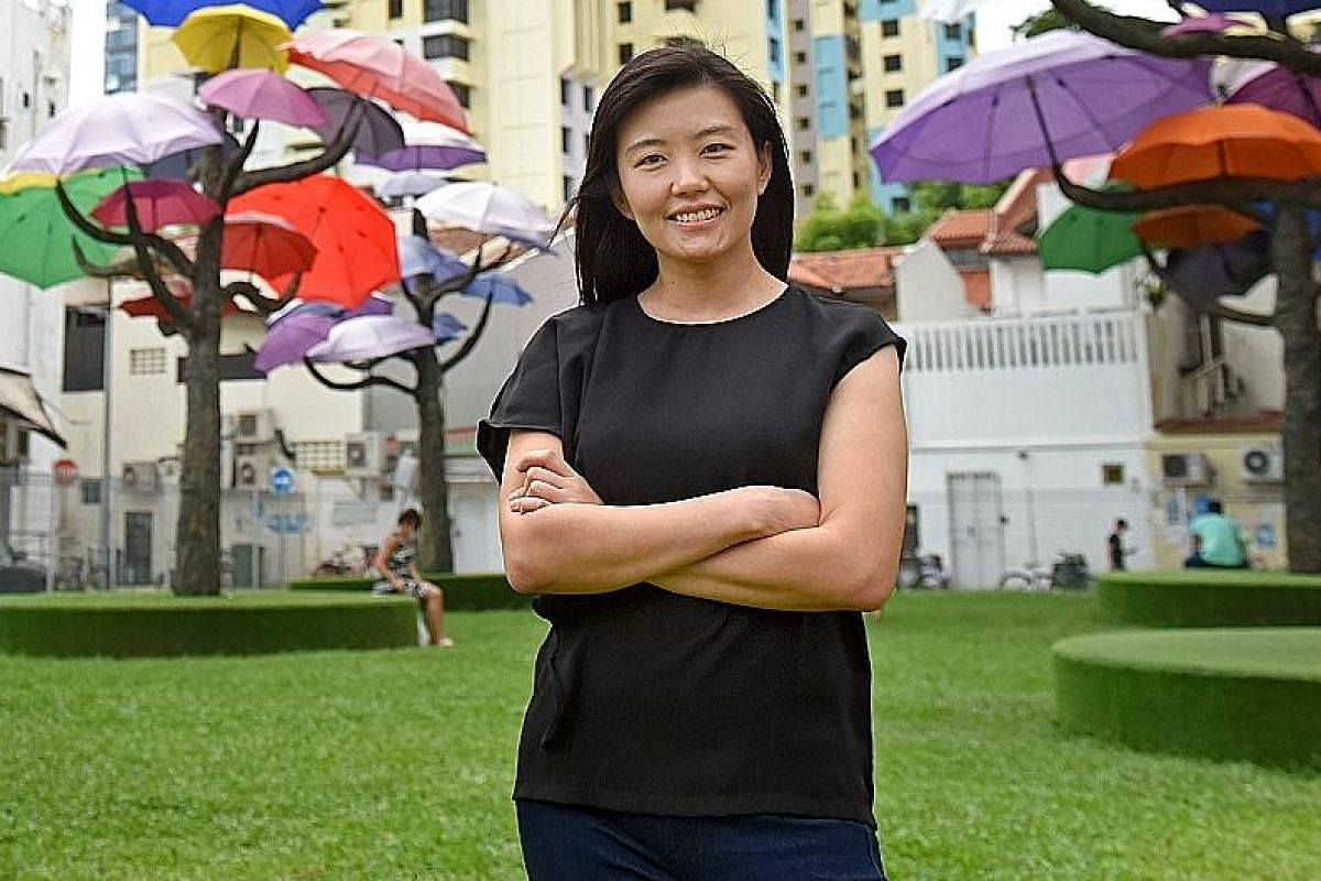 Event and exhibition designer Marthalia Budiman (above) is behind the art installations in Little India.