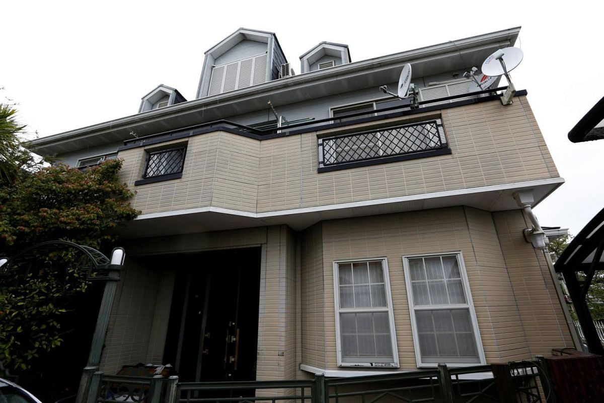 Mr Nishimoto's house in Osaka where the model room for his company's nuclear shelters is installed in the basement. In an interview with Japan Today, he said he has received over 200 requests for information about the shelters.