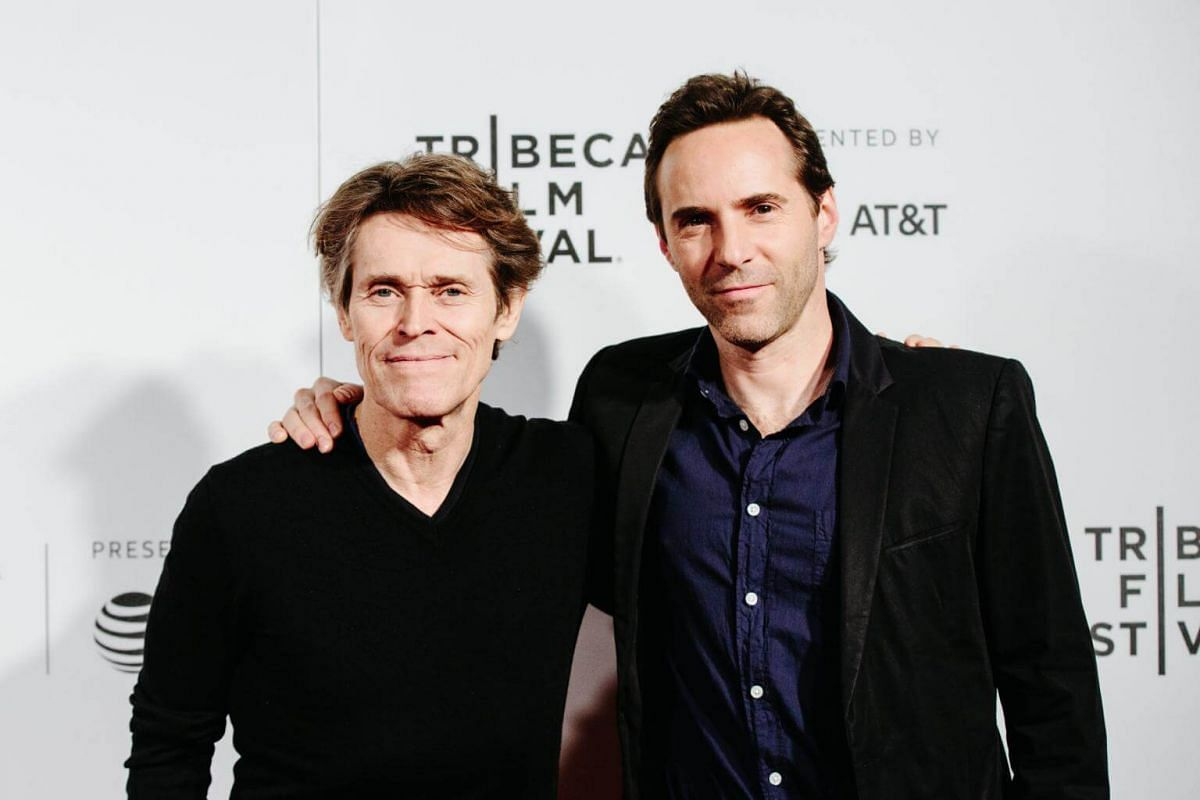 Actors Willem Dafoe (left) and Alessandro Nivola attend the 2017 Tribeca Film Festival Awards Ceremony in New York.