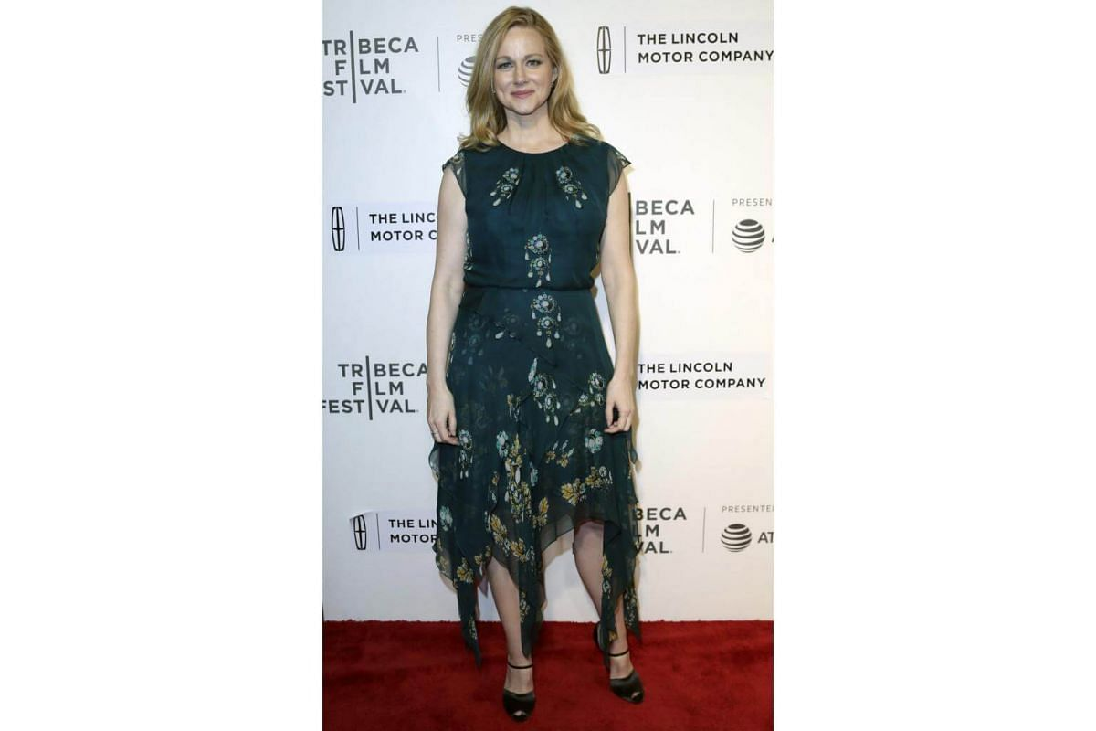Actress and cast member Laura Linney attends the American premiere of The Dinner during the 2017 Tribeca Film Festival in New York on April 24, 2017.