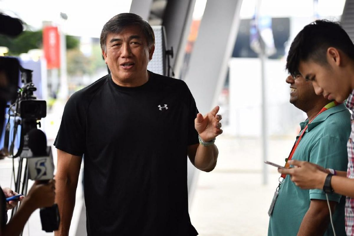 Chief executive officer of Sport Singapore Lim Teck Yin seen after the FAS election.