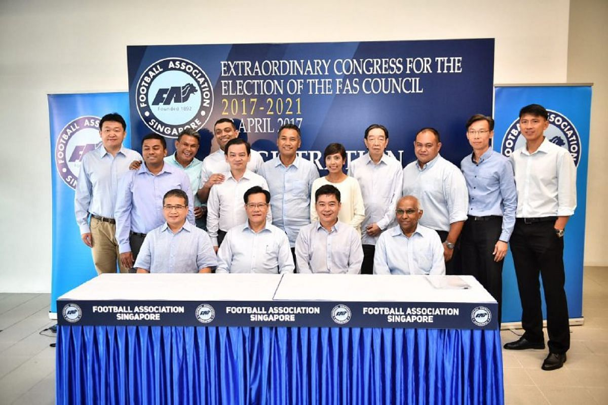 Members of the new FAS council.
