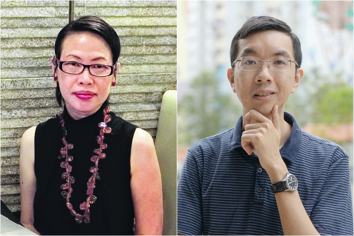 After being diagnosed with autism in her early 40s, Dr Dawn-joy Leong (left) went on to pursue a PhD in autism and art. Khor Kuan Min (right) landed himself a job because he was upfront about his diagnosis in his early 20s of Asperger syndrome.