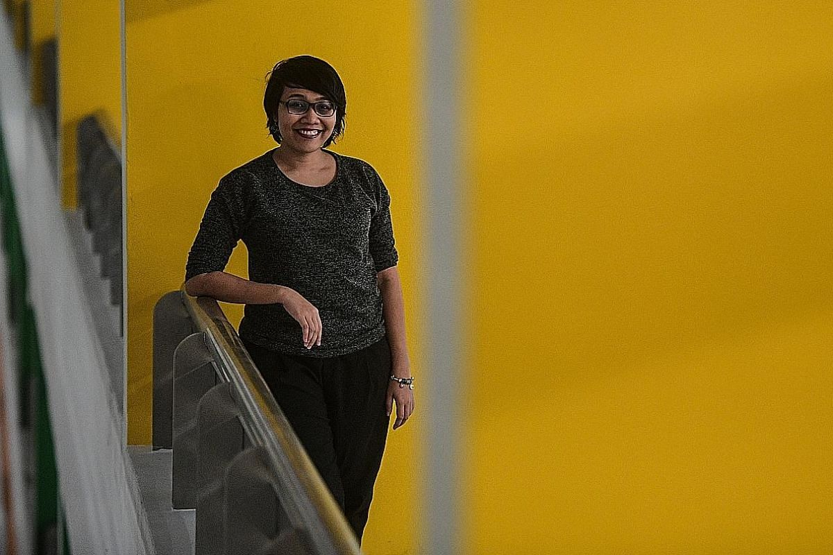 Singaporean writer Nuraliah Norasid (above) is behind The Gatekeeper; and linguistics student Kevin Martens Wong wrote Altered Straits.