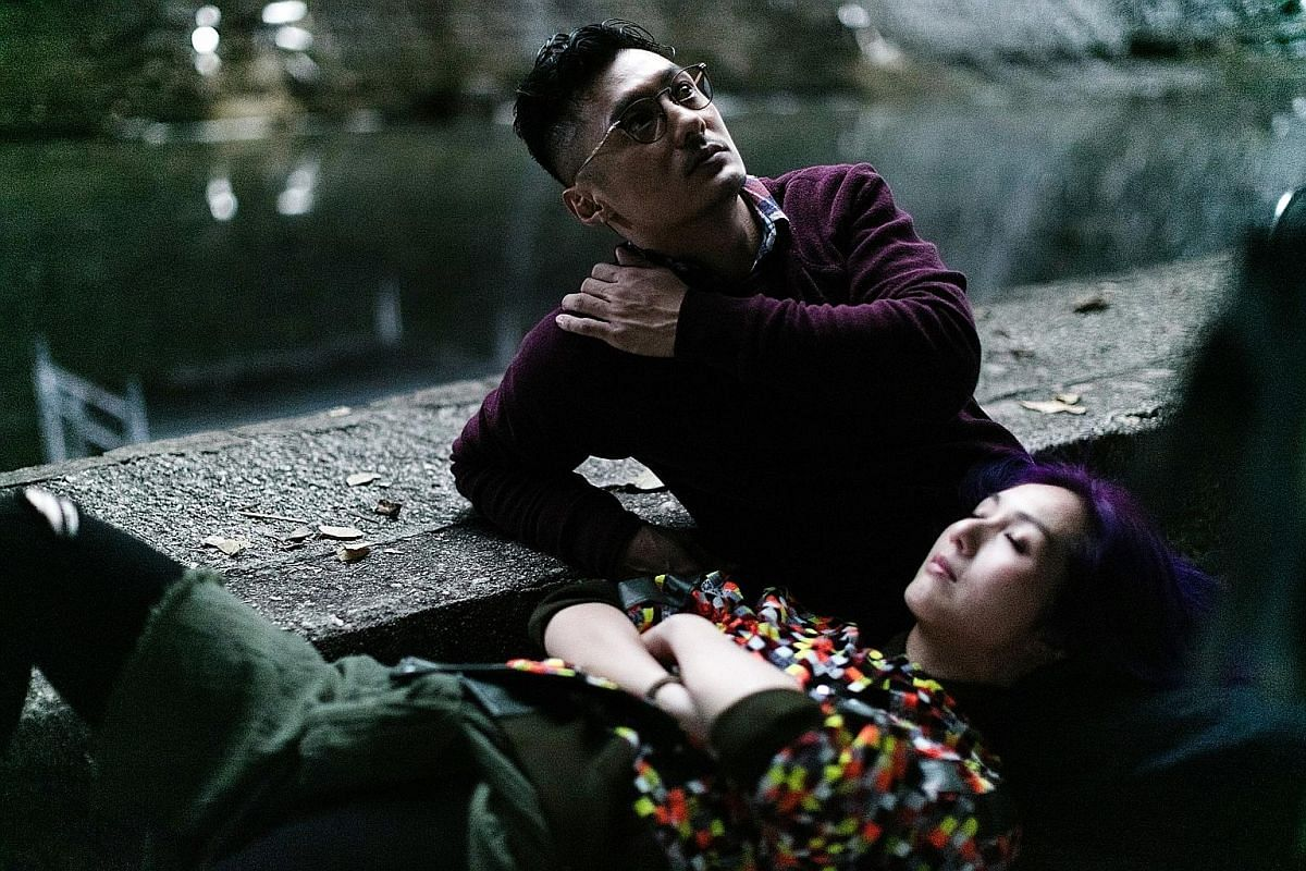 Actors Shawn Yue and Miriam Yeung (both above) reprise their roles as lovers Jimmy and Cherie in Love Off The Cuff, directed by Pang Ho Cheung.
