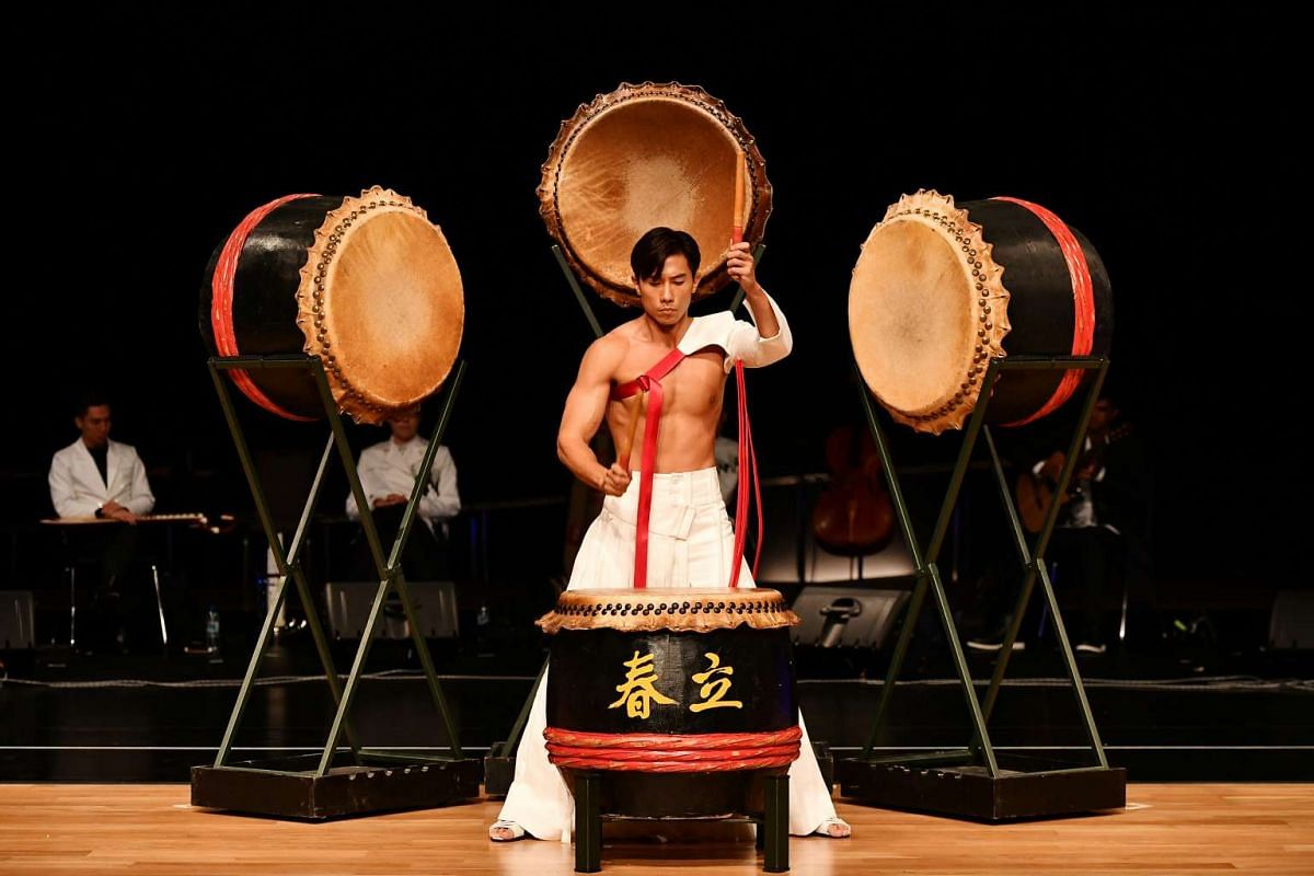 Mediacorp actor Desmond Tan will open Royston Tan's Voyage, a multimedia musical show, with a Chinese drums act.