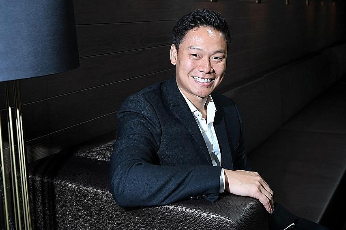 Mr Andrew Li eats light for breakfast and lunch and has a heavy dinner, which makes him go to sleep.