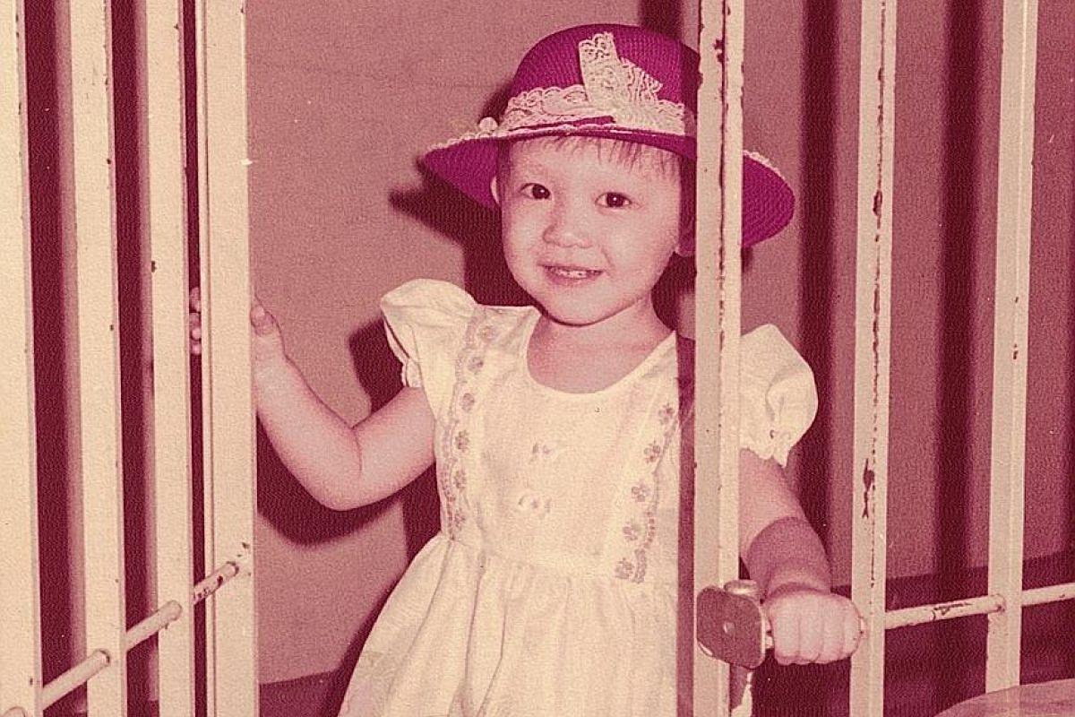 My life so far: Cai as a child.