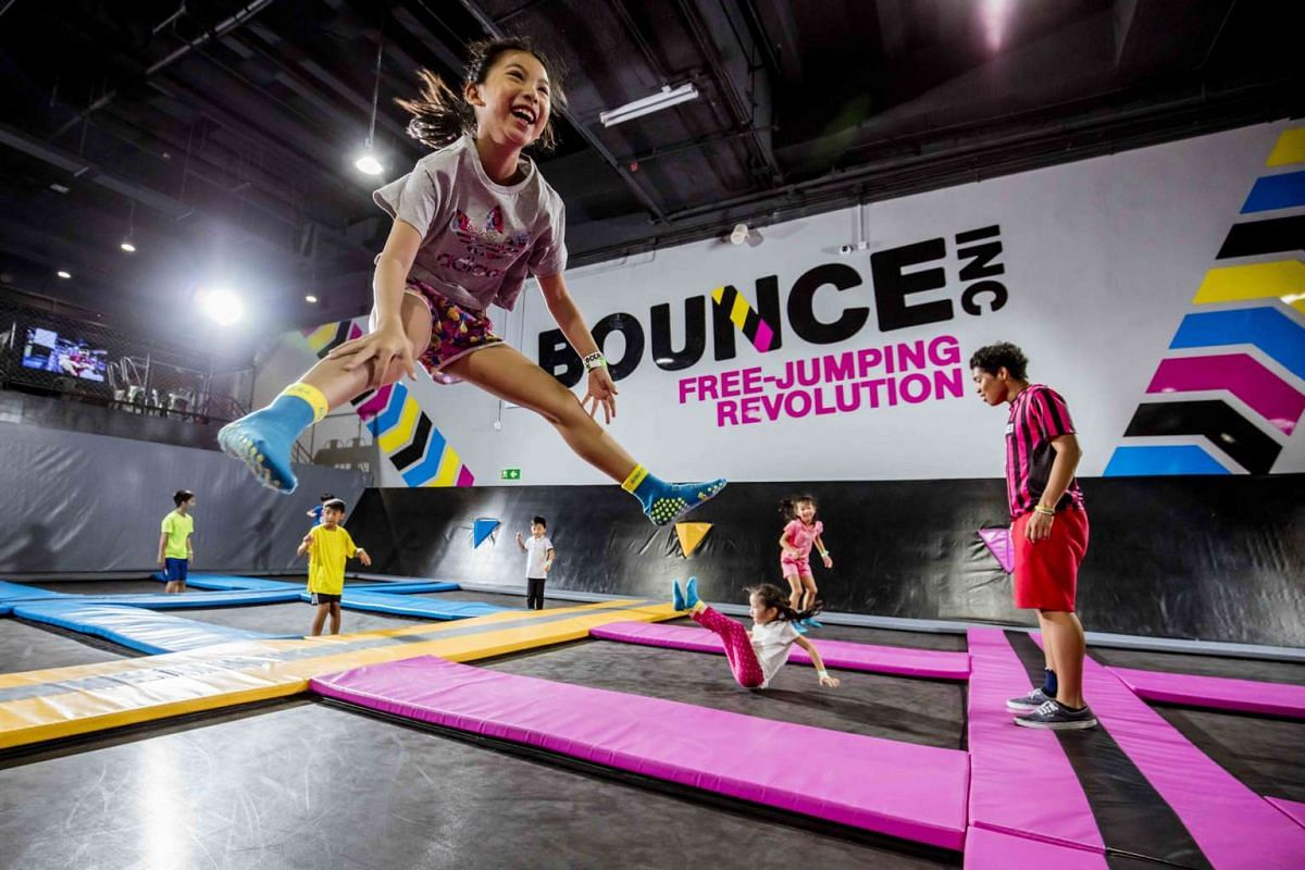 Put a spring in the kids' steps at Bounce Singapore.