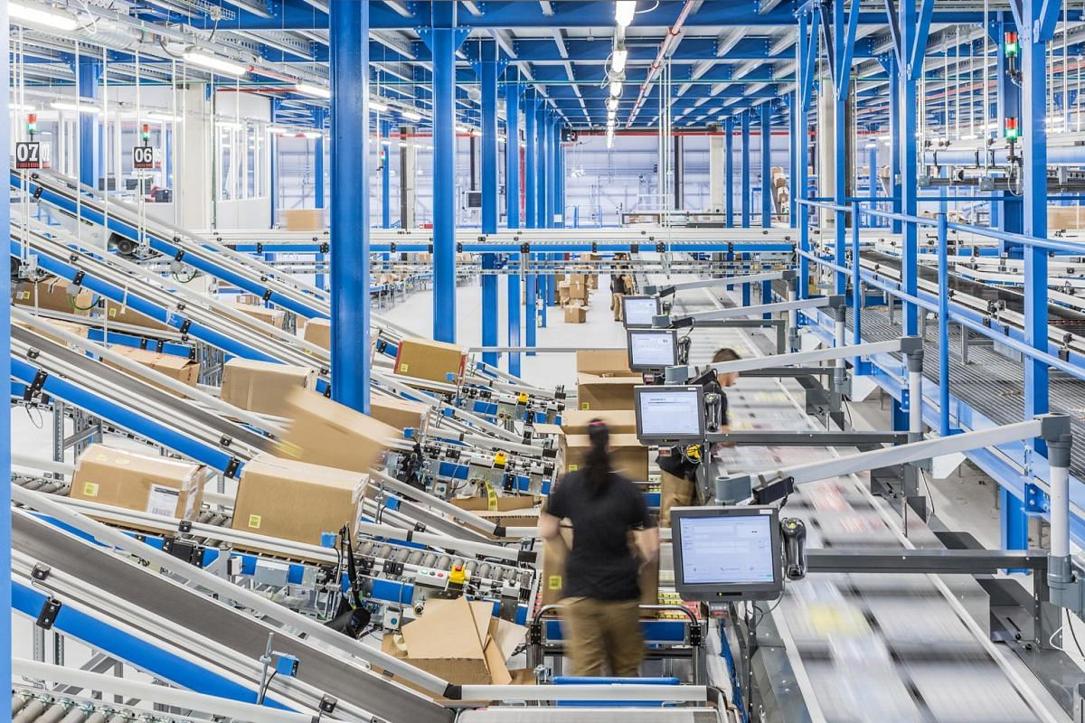 Zara stores make orders twice weekly - before and after the weekend - and most orders go out of the centralised distribution centre in La Coruna.