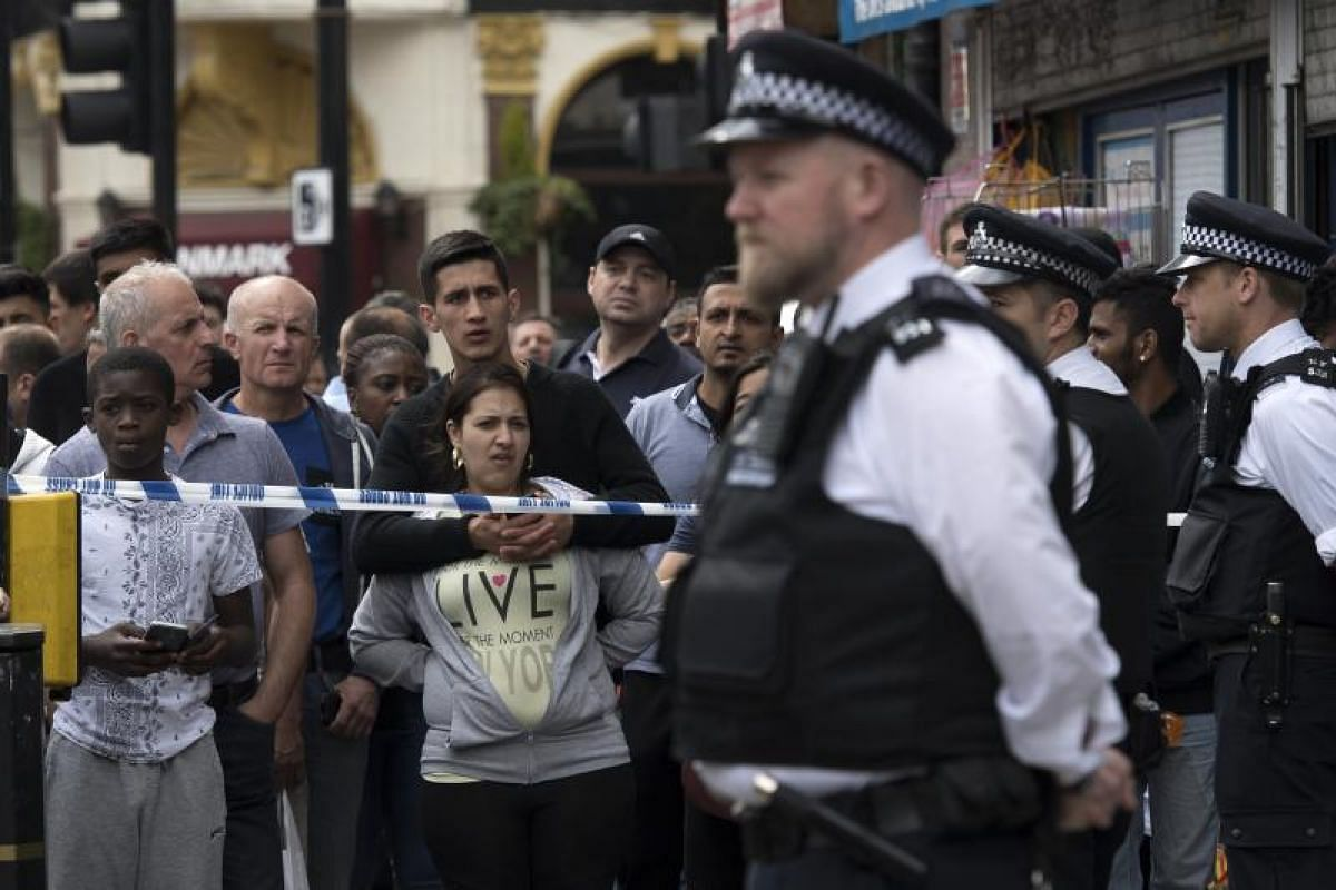 Security has been stepped up in London after the attack.