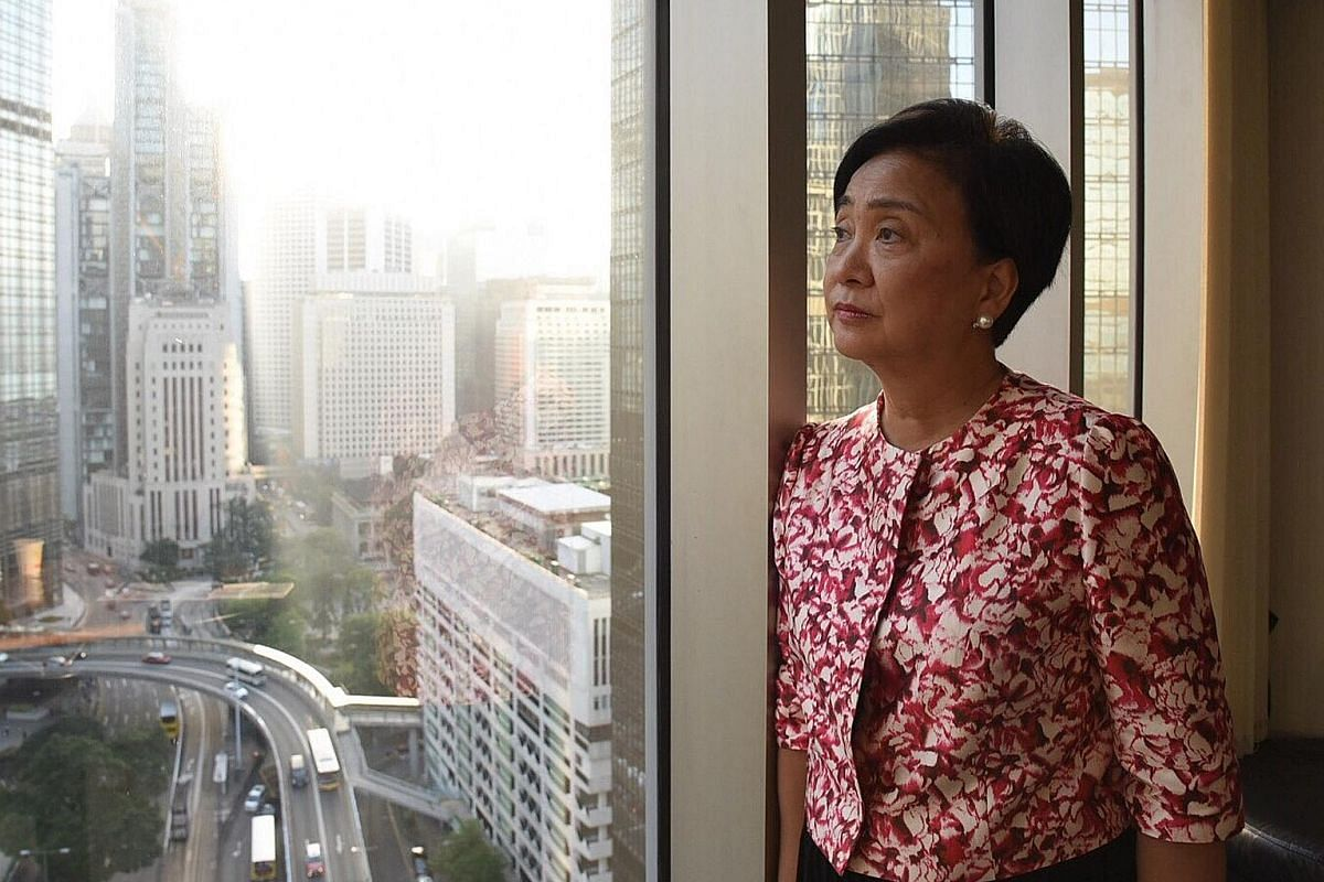 Ms Emily Lau, 65, a retired lawmaker who, as a reporter, had asked Mrs Margaret Thatcher that question.