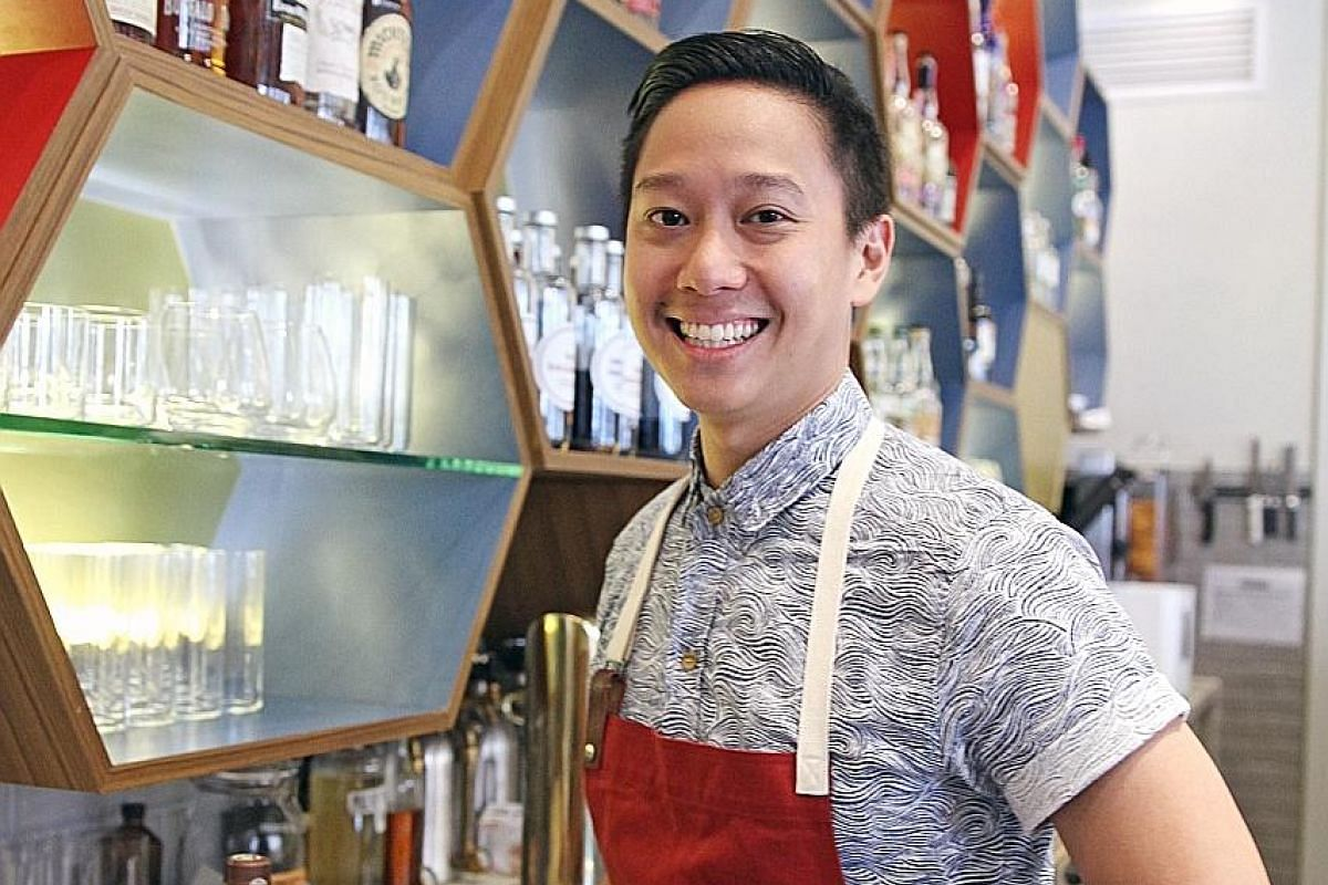 Peter Chua was inspired by chendol to concoct a cocktail that won him the top prize for the Asia-Pacific leg of the Diplomatico World Tournament, a bartending competition.